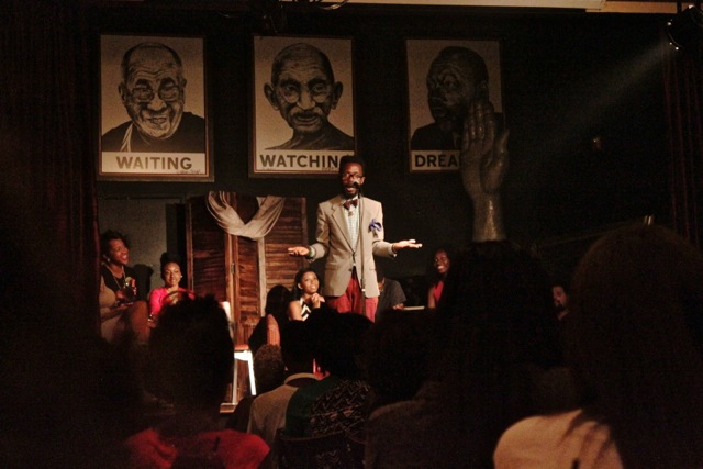 UPCOMING & ONGOING: OPEN MIC: Tonight! Weekly: Poetry Open Mic at Busboys and Poets 14th & V Hosts vary each Week, every TUES night, 9:00pm - 11:00pm, All ages,